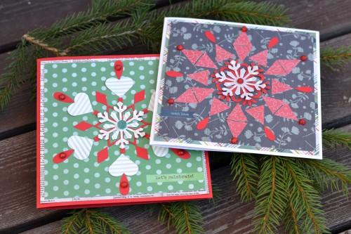 Handmade Norwegian Christmas Cards