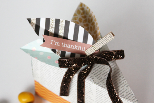 Pumpkin Pie Favor Box