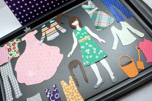 Magnetic Paper Dolls 5