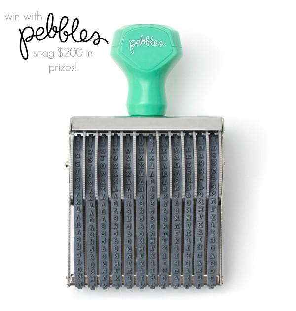 Pebbles Giveaway