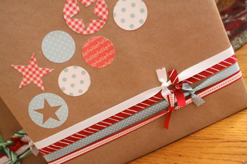Quick and Easy Holiday Gift Wrap