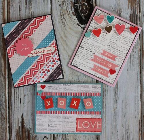 1.23.14 Trio of Valentines Cards