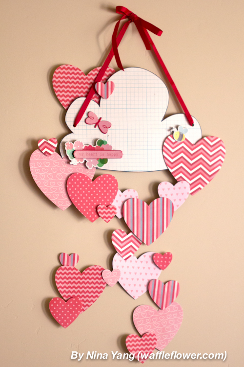Happy Hearts Wall Decoration 1 1.28.14