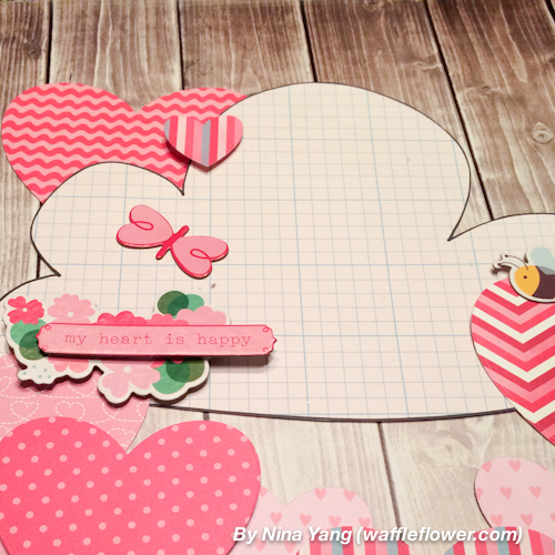 Happy Hearts Wall Decoration 4 1.28.14
