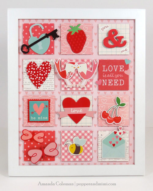 Valentine Home Decor by Amanda Coleman