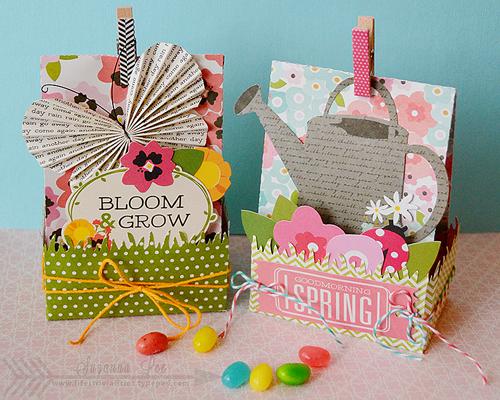 Spring gift bag created with @PebblesInc Garden