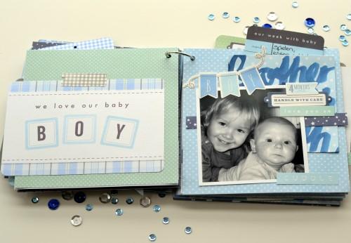 Journal Card Mini Book