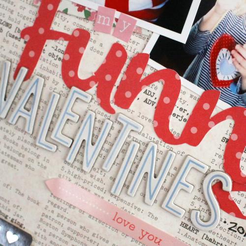 Funny Valentine Layout