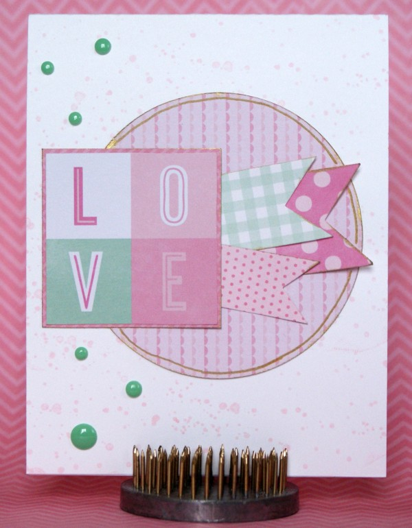 Handmade card created using @pebblesinc Special Delivery collection #cards #handmade #cardmaking