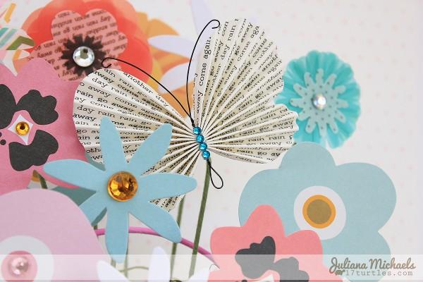 Paper flower bouquet teacher gift via @julianamichaels for @pebblesinc using #GardenParty #teacherappreciation #gift #paperflowers