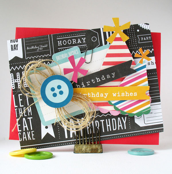 Quick and easy cards that can double as darling invitations made by @kathymartin using the #birthdaywishes collection by @PebblesInc. #cards #invitations