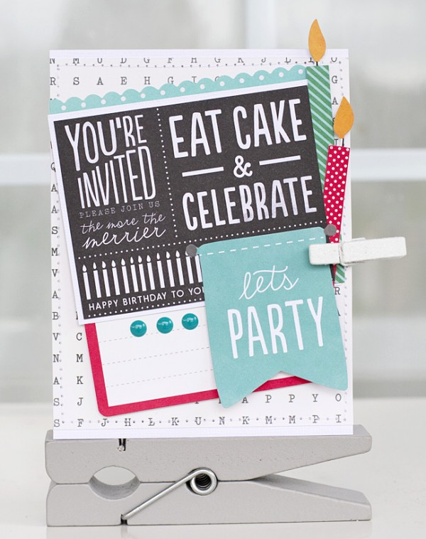 Get your stash of birthday cards going with these great designs by @justlulu using the #birthdaywishes collection from @PebblesInc.