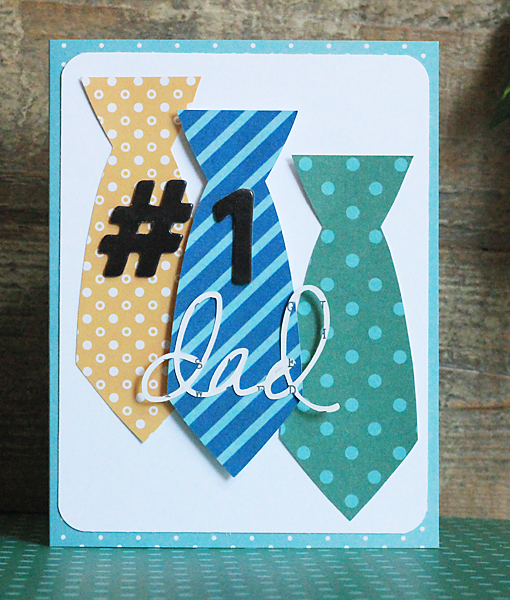 Handmade Father's Day card created by @beckywilliams1975 for @Pebblesinc #FathersDay #Cards #Cardmaking