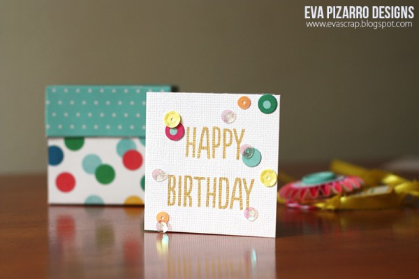 Save the tissue paper for another day and make your own birthday gift box with a little help from @evapizrrov using #PebblesInc collection #BirthdayWishes.