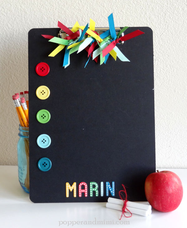 Back-to-School Clipboard by Amanda Coleman using #BirthdayWishes collection from @PebblesInc