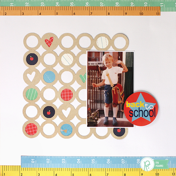 Step by Step layout by @evapizarrov using the #backtoschool line by @pebblesinc