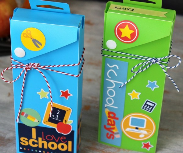 Back to School stickers from  @pebblesinc  created by #ribbonsandglue