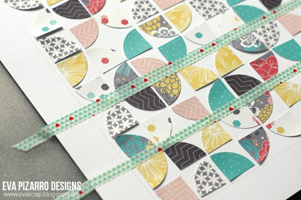 quilted inspired layout by @evapizarrov using #JHHomeMade line by @pebblesinc