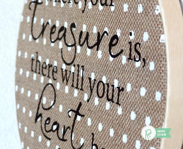 Treasure Heart Hoop 2