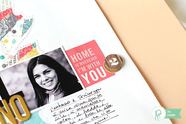 Step by Step Layout by @evapizarrov using the #JHHomeMade collection by @pebblesinc