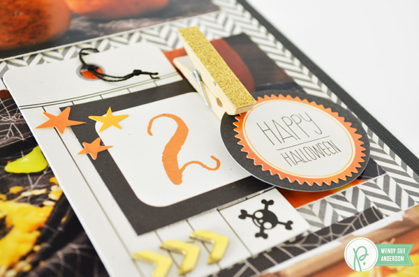 Pumpkin Carving 101 Layout by @wendysuea feauring the #thirtyone collection by @PebblesInc