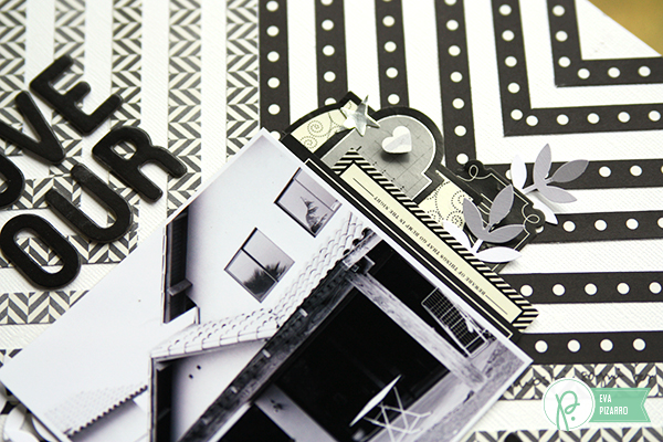 Black and White layout by @evapizarrov using the #ThirtyOne collection by @pebblesinc