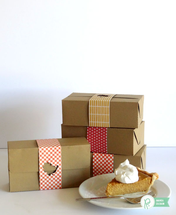 Thanksgiving Leftovers Boxes by @popperandmimi using @Pebblesinc collections