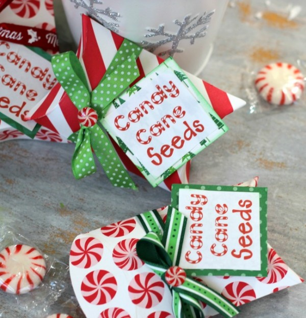 Candy Cane Seeds made with @pebblesinc Home for Christmas Collection by @ribbonsandglue