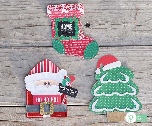 Holiday Gift Card set created by @jbckadams for @pebblesinc  using the Home for Christmas collection