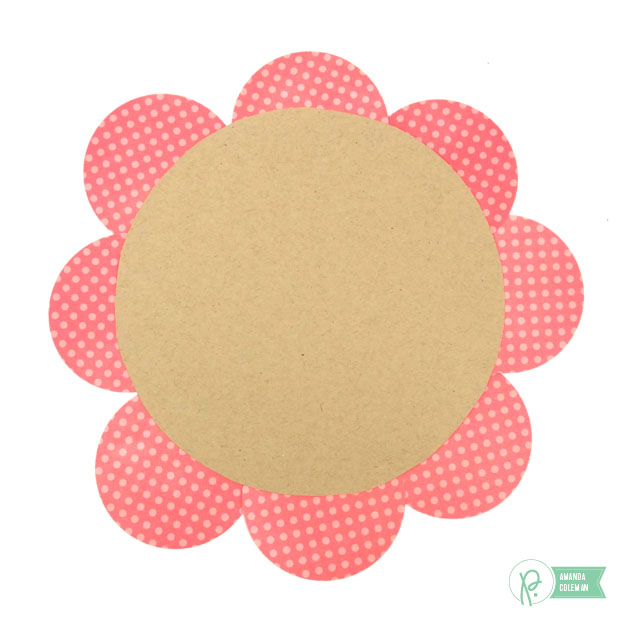 Flower Cork Boards by @popperandmimi using the Happy Day collection from @pebblesinc