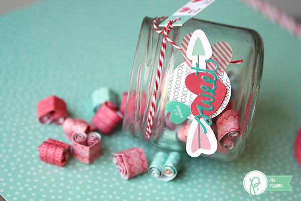 Valentine's Date Jar by @evapizarrov using the #WeGoTogether line from Pebbles