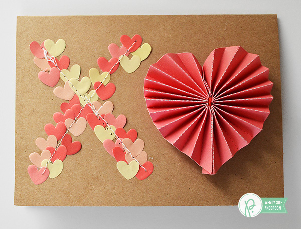 Valentine's Day Cards by @wendysuea using @pebblesinc We Go Together collection