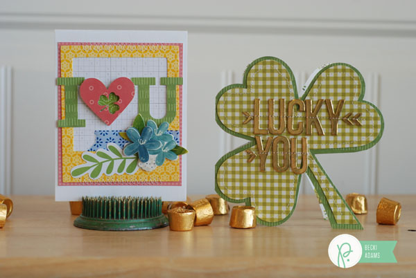 St Patricks Day cards created by @jbckadams for @Pebblesinc