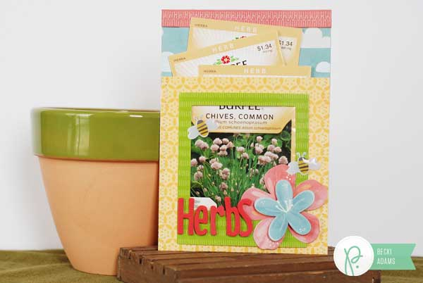 seed gift packet envelope by @jbckadams for @pebblesinc using the home grown collection