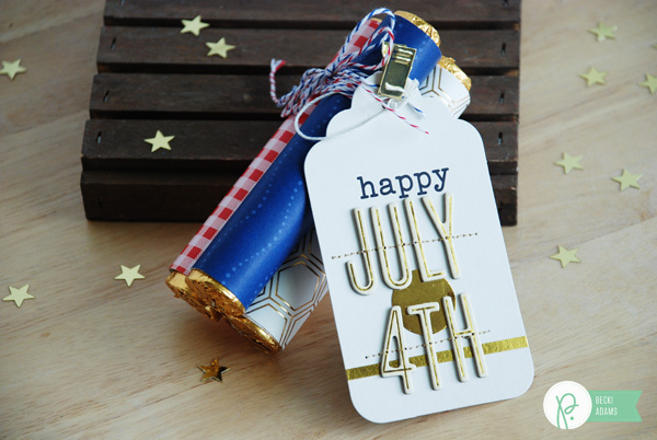 4th of July gift idea by @jbckadams Becki Adams for @Pebblesinc