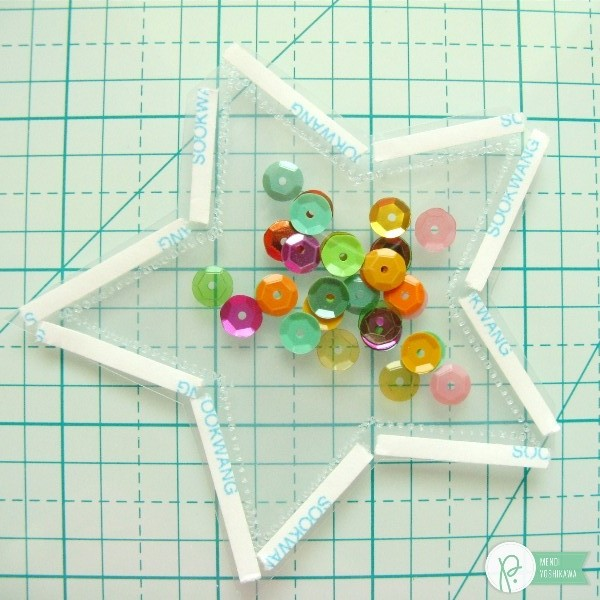 Fuse Tool Shaped Shaker Tutorial by Mendi Yoshikawa using the #FunInTheSun collection by @PebblesInc. @SnippetsByMendi