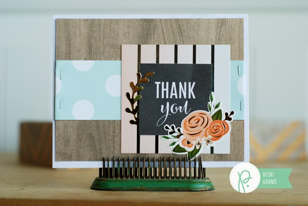 Handmade cards created by @jbckadams (Becki Adams) for @Pebblesinc using the DIY Home collection by @tatertotsandjello