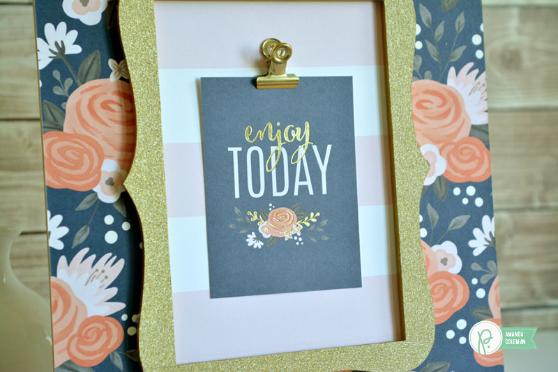 Daily Affirmations Frame by @amanda_coleman1 using DIY Home from @pebblesinc