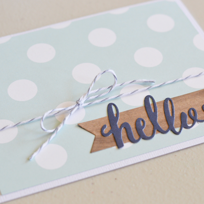 Create beautiful cards made by @thehappyscrps with the #DIYHome Collection from @pebblesinc.