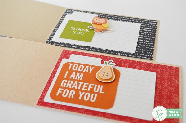 "Quick and Easy Cards by @wendysuea with the ""Harvest"" collection by @Pebblesinc."