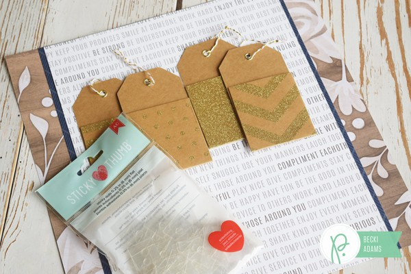 How to create an interactive layout by @jbckadams (Becki Adams) for @pebblesinc #scrapbooking #papercrafting #memorykeeping