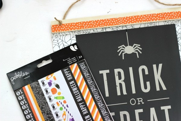 Halloween Washi Tape from the @pebblesinc Boo! collection