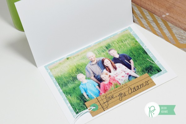 Handmade Christmas Cards with Photos by @jbckadams for @Pebblesinc