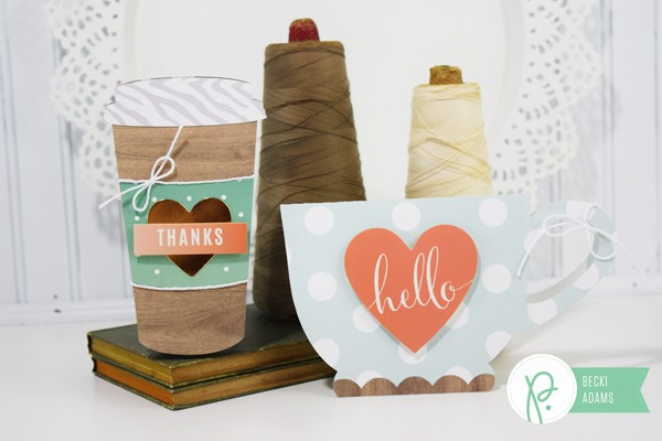 Mug Shaped cards by @jbckadams for @pebblesinc using products by @tatertotsandjello