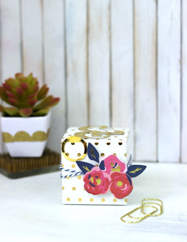 Everyday Treat Box from the @pebblesinc Everyday collection created by @jenhadfield designed by @ribbonsandglue