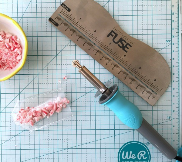 Fuse Tool to make a DIY Peppermint Tag