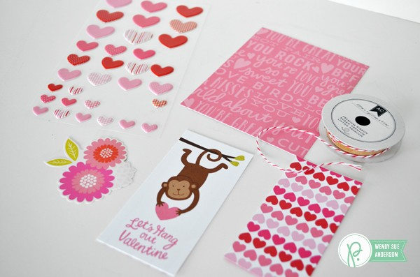 "Punny Pop-Up Cards created by @wendysuea with the ""Be Mine"" collection from @pebblesinc"