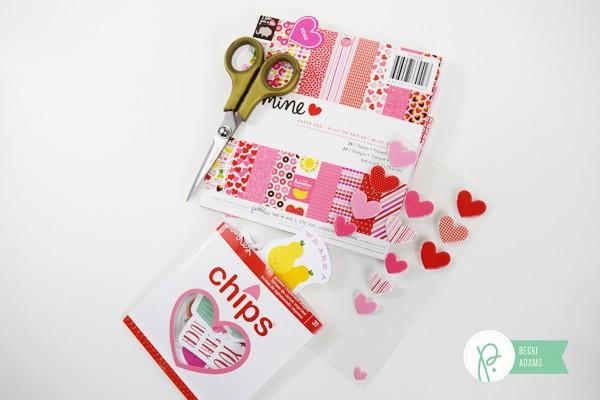 Easy Handmade Valentines by @jbckadams for @pebblesinc
