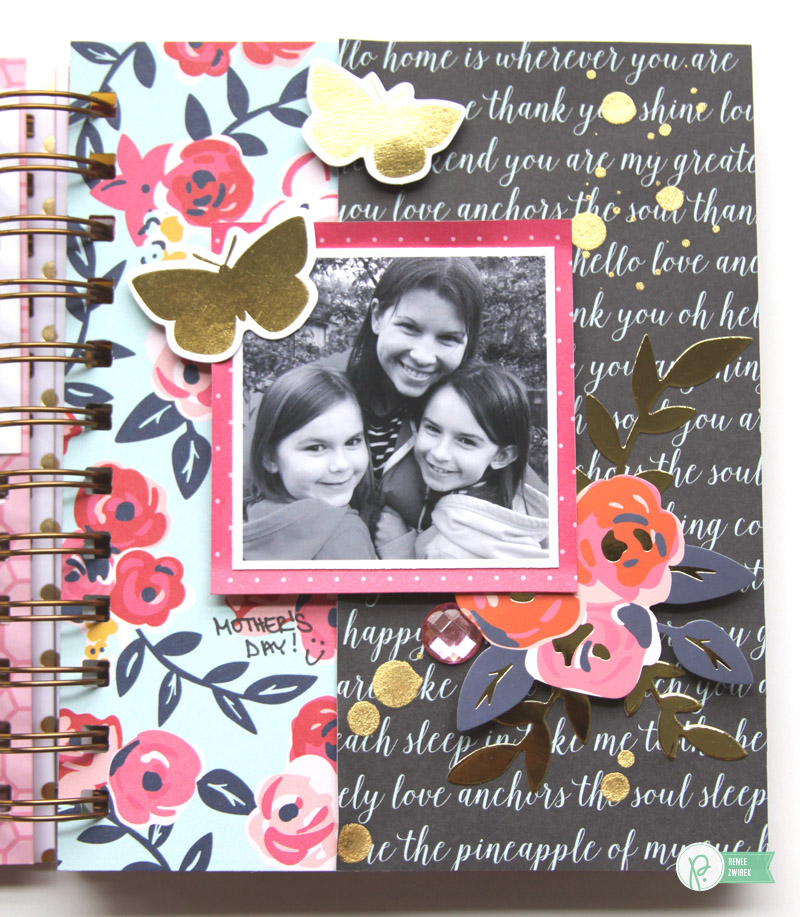 Hugs & Kisses Mini Album by @reneezwirek using the #JHEveryday collection by @PebblesInc. and @Tatertots and Jello .com