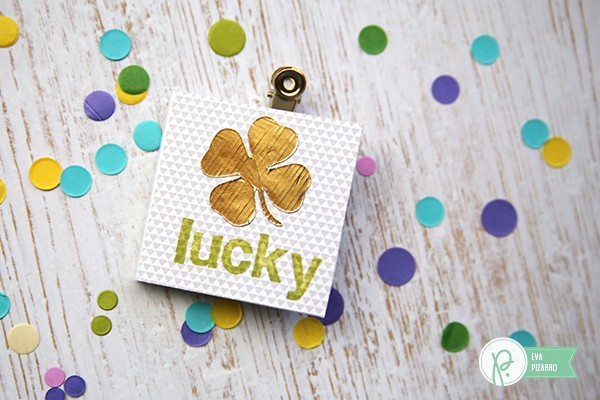 St. Patrick's day cards by @evapizarrov using the new #everyday collection by @pebblesinc